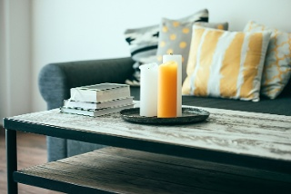 Birmingham-Apartment-Candles-books