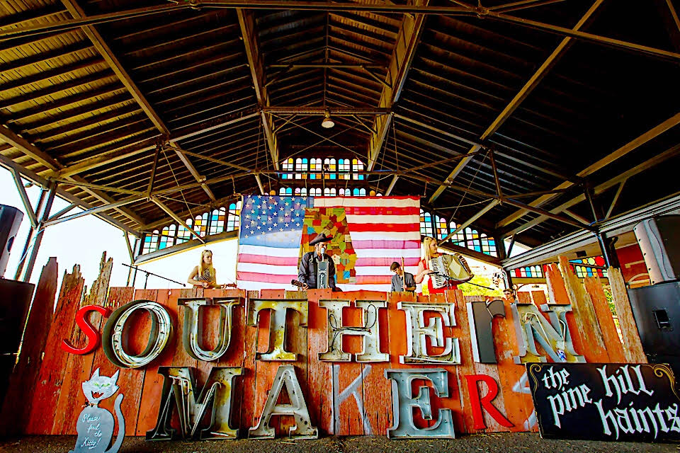 Magic City Scene: Southern Makers at Sloss Furnaces