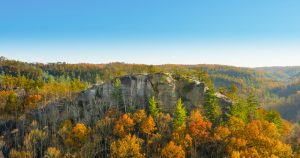 Overlook at Red River Gorge.