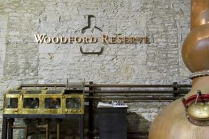 Tour at Woodford Reserve.