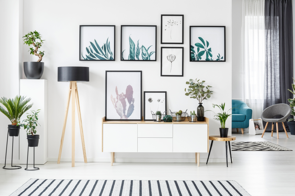Five Easy Wall Decorations for Apartments