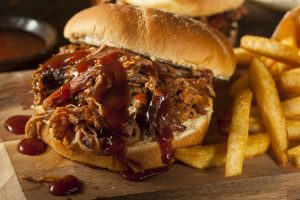 Pulled BBQ Sandwich KY.