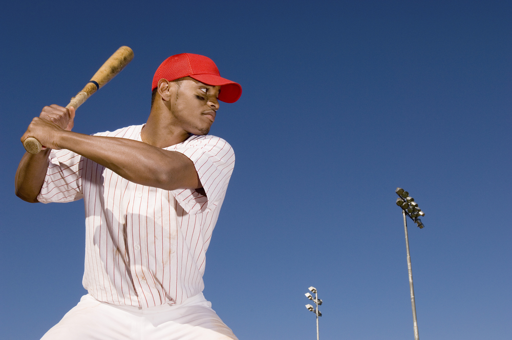 African-American baseball player.