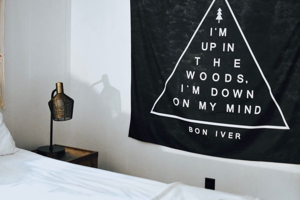 decorative wall tapestry.